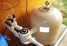 Swimming Pool Filtration System, Plant